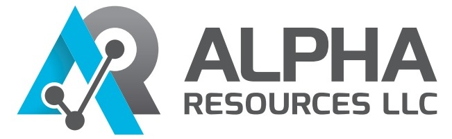Логотип компании Alpha resources